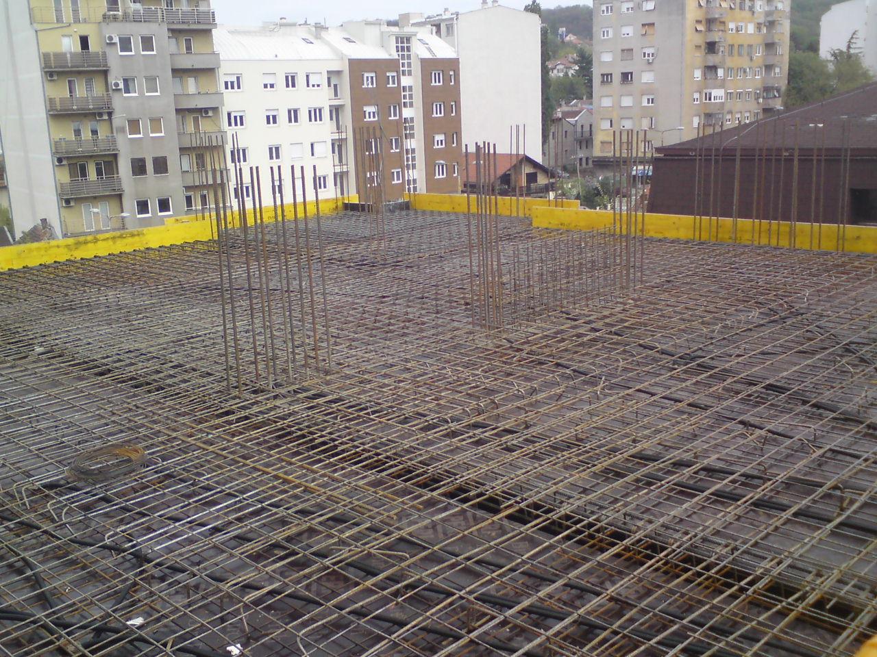 4e399fc18d52 Concrete slab 3rd floor